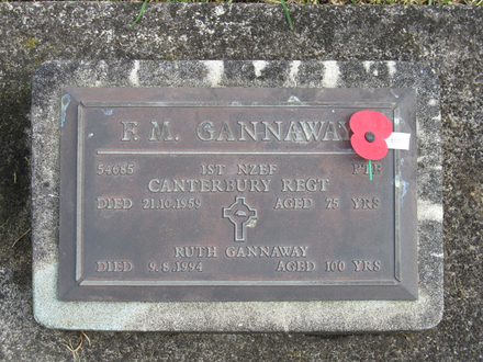 Gravestone broad view at Papatoetoe Cemetery provided by Sarndra Lees April 2013 - Image has All Rights Reserved.