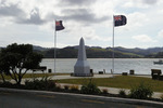 Mangonui (Cenotaph) War Memorial, full view (photo J. Halpin 2011) - No known copyright restrictions