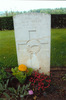 Headstone, Forli War Cemetery (Photograph Lesley Morley 2008) - This image may be subject to copyright