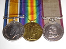 Medals, WW1 group British War Medal (1914-1920); Victory Medal; and New Zealand Territorial Service Medal - No known copyright restrictions