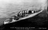 HMS Suffolk 1st Cruiser Squadron, Home Fleet - This image may be subject to copyright