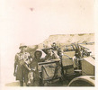 Group, WW2, three soldiers beside a jeep (kindly provided by family) - This image may be subject to copyright