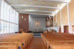 Interior, St Peter's Anglican Church, Takapuna (photo J. Halpin 2013) - No known copyright restrictions