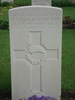 Headstone, Ypres Reservoir Cemetery (photo 2009) - No known copyright restrictions