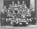 Newspaper clipping. Golden Bay/Motueka Junior Reps (Rugby) team photograph, Mo Mitchell (36256) 2nd from left, 3rd row - This image may be subject to copyright