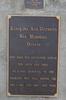 Domain commemorative plaque, Kawakawa District War Memorial, Kawakawa and Districts War Memorial Domain (photo John Halpin 2010) - CC BY John Halpin