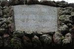Name tablet, Onehunga Arch of Remembrance, Jellicoe Park (photo John Halpin, March 2012) - CC BY John Halpin