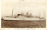 Postcard of HMT Strathhaird (P&O) in which the 19th Wellington Battalion were transported in convoy to Egypt 6/7 January 1940. No known copyright restrictions.