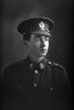 1/2 portrait of Rifleman Glen Blair Reg No 26541 of the 17th Reinforcements, 8th Reinforcements to the 4th Battalion - H Company, New Zealand Rifle Brigade. (Photographer: Herman Schmidt, 1916). Sir George Grey Special Collections, Auckland Libraries, 31-B1857. No known copyright.
