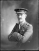 1/2 length portrait of Colonel Meldrum, with a moustache, in military uniform of the New Zealand Mounted Rifles (Photographer: Herman Schmidt, ). Sir George Grey Special Collections, Auckland Libraries, 31-WP1134. No known copyright.