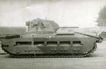 Photo of Matilda tank. (Collection of Darcy Gardiner (800706)). Image provided by Brian Gardiner. This image may be subject to copyright.