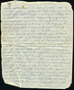 Letter from Driver MC Baker (S/N 43549) Middle East Forces to his sister Eileen Utting, mentions death in Auckland of Francis Harold Baker. page 3. This image may be subject to copyright.