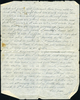 Letter from Driver MC Baker (S/N 43549) Middle East Forces to his sister Eileen Utting, mentions death in Auckland of Francis Harold Baker. page 4. This image may be subject to copyright.