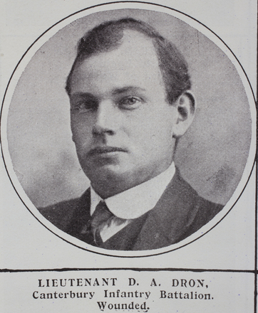 Portrait, Lieutenant Douglas Alexander (6/1517) from the Weekly News. Kindly provided by Onward Project, Phil Beattie & Matt Pomeroy. No Known Copyright.