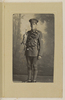 Portrait. Frederick A. Dingley 13/3015[or 8] Trumpeter F. Dingley A Squadron left N.Z. 12 Feb 1916 10th Reinforcement NZEF Killed in Action during the Battle of Messines June 7 1917. Mickle, A. M. R. (n.d.)Micklealbum. Auckland War Memorial Museum - Tamaki Paenga Hira. PH-ALB-561. p.85. No known copyright restrictions.