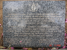 Galatos Memorial Tree, Pohutukawa Commemoration Tablet, NZ. Image provided by Noel Taylor. Image © Auckland Museum CC BY.