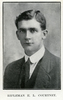 Portrait of E. L. Courtney. Auckland Grammar School chronicle. 1916, v.4, n.2. Image has no known copyright restrictions.