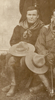 "Portrait of Sidney James Goodyear. Ohura Legion of Frontiersmen. c1912-1914. Handwritten in ballpoint pen on verso ""Sidney James Goodyear/ Front row, first left. Ohura Legion of Frontiersmen?/ 1912-1914?"". Goodyear, Sidney James. Auckland War Memorial Museum Library. PH-2007-4-2 Detail. Image has no known copyright restrictions."