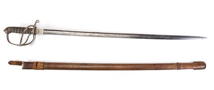 Major Henry Gordon Wilding's Sword & Scabbard