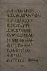 Auckland War Memorial Museum, World War 1 Hall of Memories Panel Stanton, A.L. - Steele, J. (CC BY John Halpin 2010)