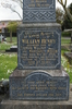 Wood family memorial. Pukekohe Cemetery, Wellington Street, Pukekohe, New Zealand. Image provided by John Halpin (2015). Image has no known copyright restrictions.