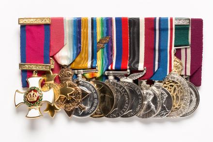 medal set, front 1997.77.1
