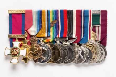 medal set front (1997.77.1)