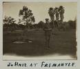 Gillett, Lawrence Henry, photographer (1914-1918). Johnie at Fremantle. Gillett Album. Auckland War Memorial Museum - Tāmaki Paenga Hira PH-ALB-118p12-5. Image has no known copyright restrictions.