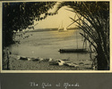 """River scene, """"The Nile at Maadi"""", Photo Album in Egypt of 638 Charles Honori Parks. Image kindly provided by Parks family. Image has no known copyright restrictions."""