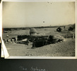 """View of the Sphinx from behind, """"The Sphinx"""", Photo Album in Egypt of 638 Charles Honori Parks. Image kindly provided by Parks family. Image has no known copyright restrictions."""