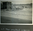 """""""(1) The wrecked cinema"""", Photo Album in Egypt of 638 Charles Honori Parks. Image kindly provided by Parks family. Image has no known copyright restrictions."""