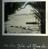"""""""One the Nile at Maadi"""", Photo Album in Egypt of 638 Charles Honori Parks. Image kindly provided by Parks family. Image has no known copyright restrictions."""