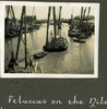 """""""Feluccas on the Nile"""", Photo Album in Egypt of 638 Charles Honori Parks. Image kindly provided by Parks family. Image has no known copyright restrictions."""