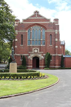 Chapel King's College Otahuhu. CC BY John Halpin 2014.
