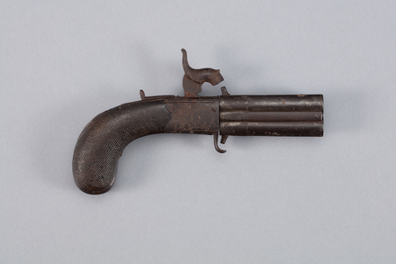 pistol, A7012, W2082, Photographed by Richard NG, digital, 12 Jan 2017, © Auckland Museum CC BY