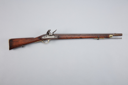 musket, flintlock, W1420, 10955, Photographed by Richard NG, digital, 22 Feb 2017, © Auckland Museum CC BY