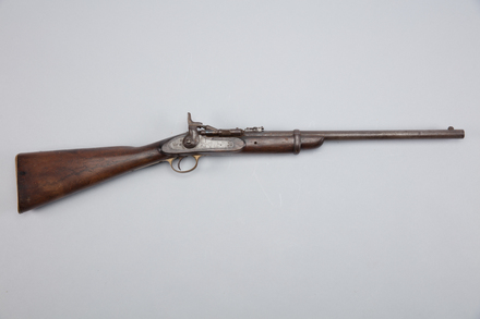 rifle, rolling block, W1789, CR 272903 (1977), Photographed by Richard NG, digital, 22 Feb 2017, © Auckland Museum CC BY