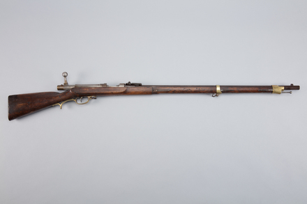 gun, needle, 1951.211.1, W1458, 3/12, Photographed by Richard NG, digital, 23 Feb 2017, © Auckland Museum CC BY