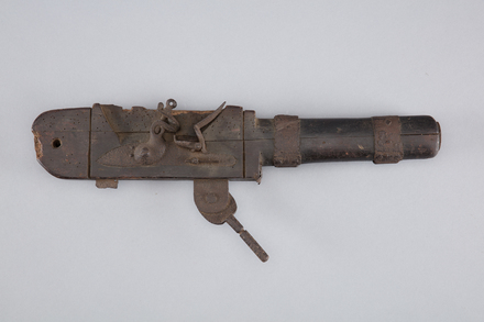 blunderbuss, flintlock, A7039, 10279, Photographed by Richard NG, digital, 31 Mar 2017, © Auckland Museum CC BY