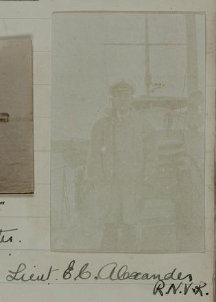 Lieut. E.C. Alexander R.N.V.R. Auckland War Memorial Museum - Tāmaki Paenga Hira PH-ALB-342-p19-5. Image has no known copyright.