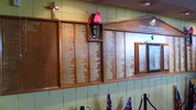Memorial Panel, Point Chevalier RSA, 1136 Great North Road Auckland 1022. Image provided by G.A Fortune 2012, CC BY G.A Fortune 2012