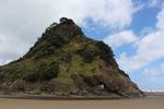 Piha Lion Rock, Piha War Memorial, Piha 0772. Image provided by John Halpin 2014, CC BY John Halpin 2014