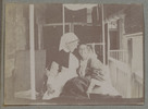 """Unknown, photographer (1915-1916). """"Sister Welch & Nutsey"""". [Agnes (Peggy) Williams photograph album]. Auckland War Memorial Museum - Tāmaki Paenga Hira PH-2017-2-2-p30-4. No known copyright restrictions."""