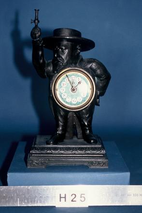 clock, italian figure