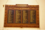 Mangere District War Memorial Honours Board, 1939-1945, 23 Domain Rd, Mangere Bridge, Auckland 2022. Image provided by John Halpin 2012, CC BY John Halpin 2012