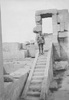 Sergeant Reginald Sole at Karnak Temple, Luxor, Egypt, c. First World War. Image kindly provided by Patricia Sole (January 2018). Image has no known copyright restrictions.