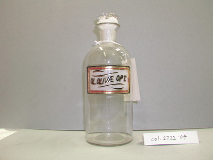 bottle, pharmaceutical [col.2722.4] front view