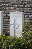 Headstone of Second Lieutenant Herbert Francis Dyer (6/2605). Menin Road South Military Cemetery, Ieper, West-Vlaanderen, Belgium. New Zealand War Graves Trust (BECR0829). CC BY-NC-ND 4.0.