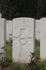 Headstone of Rifleman Percy Roy Andrew (25781). Nine Elms British Cemetery, Poperinge, West-Vlaanderen, Belgium. New Zealand War Graves Trust (BEDA9567). CC BY-NC-ND 4.0.