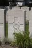 Headstone of Private John Carlin (15134). Lijssenthoek Military Cemetery, Poperinge, West-Vlaanderen, Belgium. New Zealand War Graves Trust (BECL9986). CC BY-NC-ND 4.0.